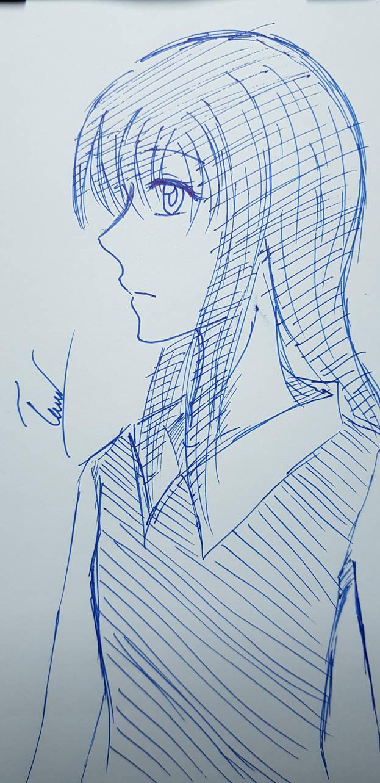 Yachiyo sketch  by Natsuki-MaiHiME