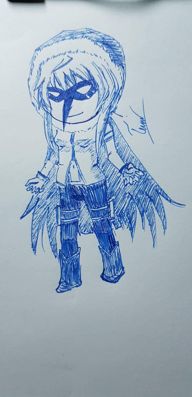 chibi Corbeau by Natsuki-MaiHiME