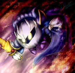 Knight in the Sky by hideakithewolf