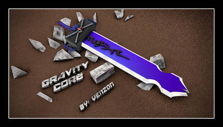 Gravity Sword by VenzonGraphix
