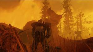 Fallout 76: Scorchbeast Queen by AdamArt675