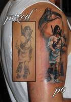 Thorgal on skin2 by Ashmodeii