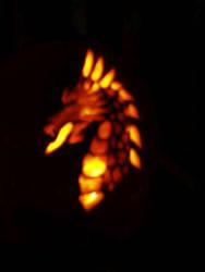 Glow Dragon by Lzee
