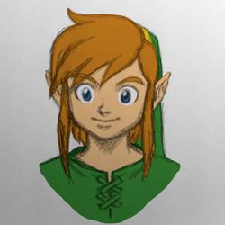 Link - The Legend of Zelda WIP by dawwe0