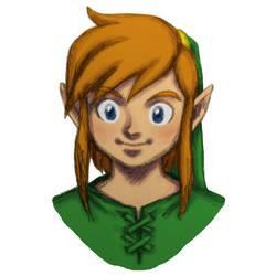 Link - The Legend of Zelda shading WIP by dawwe0