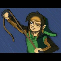 Link's Awakening WIP by dawwe0