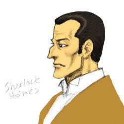 Sherlock Holmes by dawwe0