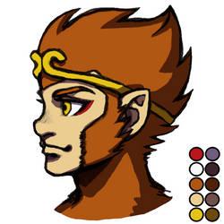 Sun Wukong profile by dawwe0