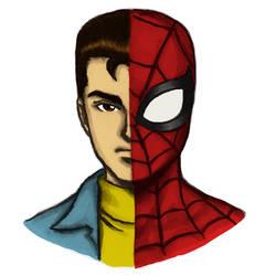 Peter Parker/Spider-Man by dawwe0