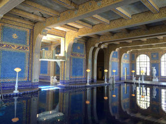 Hall of Hearst's Indoor Pool by Colonel-Knight-Rider