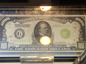 Thousand-Dollar Bill by Colonel-Knight-Rider