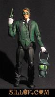 Gaslight Green Lantern by sillof
