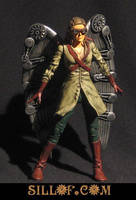 Gaslight Hawkgirl by sillof