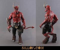 Sillof Hellboy redesign by sillof