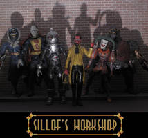 Gaslight Legion of Doom by sillof