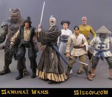 Samurai Wars: Heroes by sillof