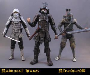 Samurai Wars: Villains by sillof