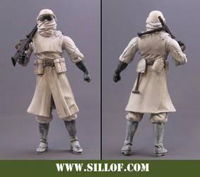 World Wars 1942:Winter Trooper by sillof