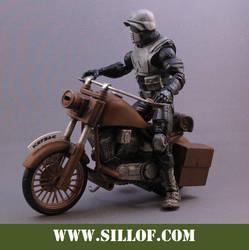 World Wars 1942: Motor Scout by sillof
