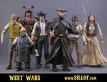 West Wars - Heroes by sillof