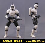 Serial Wars: Starsoldier by sillof