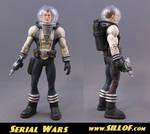 Serial Wars: Capt. Hawk Solar by sillof
