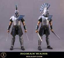 Roman Wars: Captain Recksus by sillof