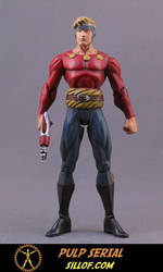 Pulp Serial: Flash Gordon by sillof