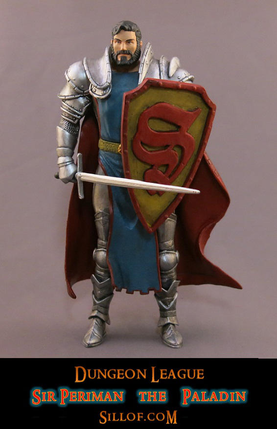 Dungeon League - Sir Periman by sillof