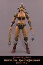 Dungeon League - Wandu the Amazon Barbarian by sillof