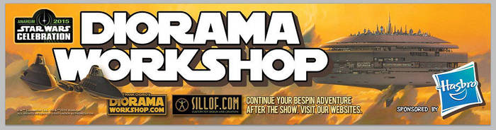 Star Wars Celebration 7 - Diorama Workshop by sillof
