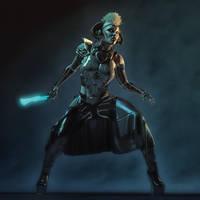 Sci-Fi Huntress v1.0 by kmcbriarty