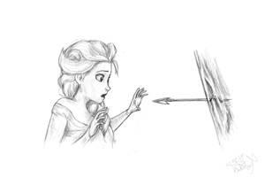 Elsa, Disney by ArtfulFoxes
