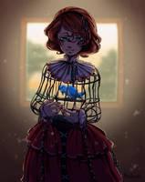 Caged Spirit by MijsAdia