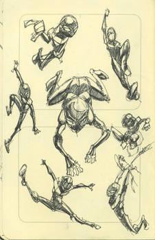 Sketchdump: Ultimate Spider-man Doodles by SkipperWing