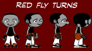 Red Fly Flash Turnarounds by SkipperWing