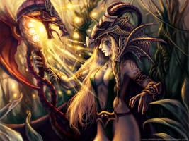 Dragon Enchantress by Smexyheroes