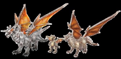 Rappelz: Monster (White Dragon) DL by Jalmod