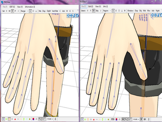 [MMD] Tutorial Automatic Fingers Rigging by Jalmod