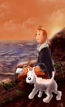 Tintin Tribute by Mami02