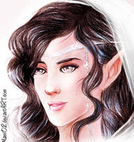 White Lady of the Noldor by Mami02