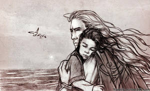 For a Time : Maedhros and Elros by Mami02