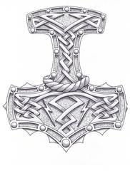 Hammer of the Gods by madtattooz