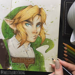 The Hero of Hyrule (WIP) by TheLittleArtyThing