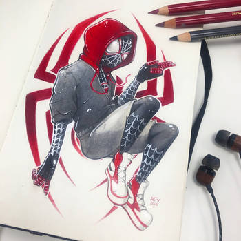 Into The Spider-Verse by TheLittleArtyThing