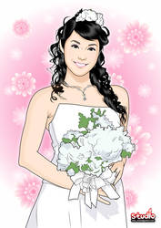 Wedding Woman Pose by nigaoe
