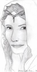 Lady Galadriel by The-Fellowship