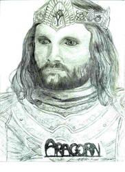 King Aragorn Elessar Telconta by The-Fellowship