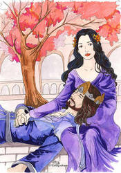 Elessar and Evenstar by The-Fellowship
