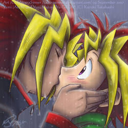 YGO: Stealing your first kiss by HazuraSinner
